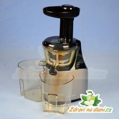 Hurom Slow Juicer Latest Model 2015 : Hurom HE / HU-500 New - st?ibrna metaliza Zdravi na dlani