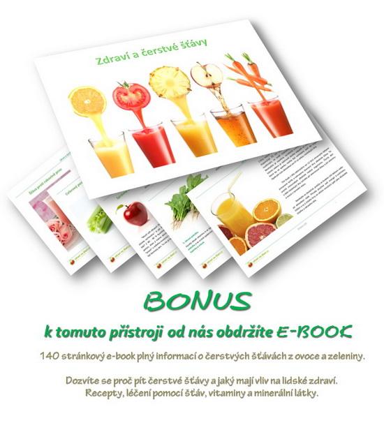 E-book Zdraví a čerstvé š%távy - BONUSový dárek zdarma