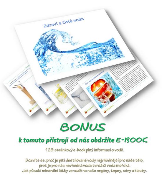 E-book Zdraví a čistá voda - BONUSový dárek zdarma