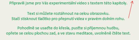 Sledování video textu