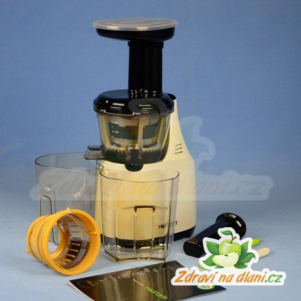 Hurom Slow Juicer Vs Omega 8006 : Hurom 4 (HU-500) - slonovina metaliza Zdravi na dlani
